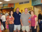 Laurie Ikeda, Mark Kimball, Coach Kelly, Jan Shelley Pew