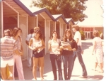 'The Lockers'  Tina Alvarez, Annette Labbe, Cheri Beebe, Roxanne and Annette Eulate