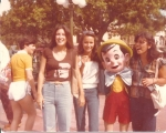 Disneyland Trip:  Tina Alvarez, Linda Chatterley and Annette Eulate