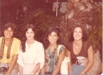 Lisa, Annette Labbe, Annette Eulate and Tina Alvarez
